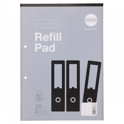 Varsity Refill Pads A4 80L F8M HB Pk10