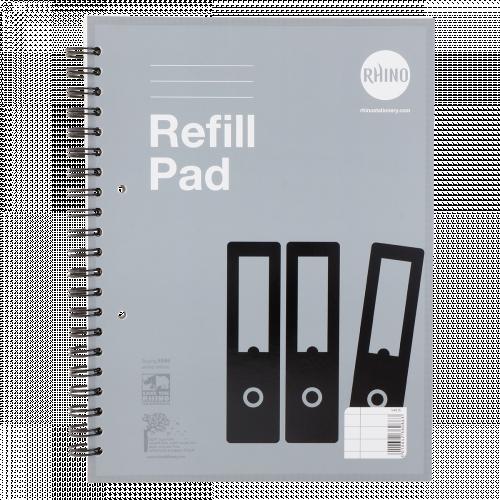 RHINO A4+ Twinwire Refill Pad 150 Leaf, F8M (Pack 5)