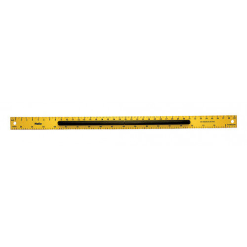 Helix 3 Part Magnetic Ruler 1m Inch/Mtr