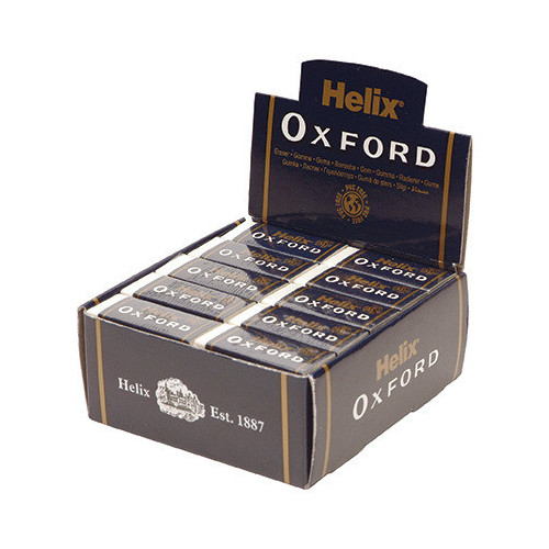 Oxford Small Sleeved Eraser 41x12x17Pk30