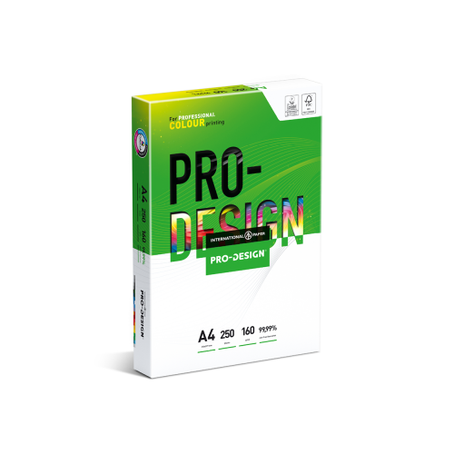 A4 PRO-DESIGN® 160gsm   250 Sheets