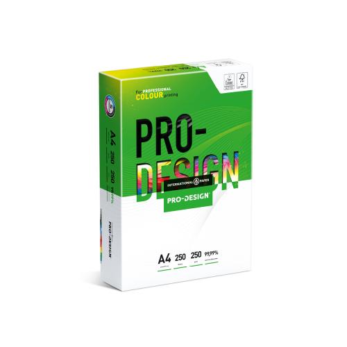A4 PRO-DESIGN® 250gsm   250 Sheets