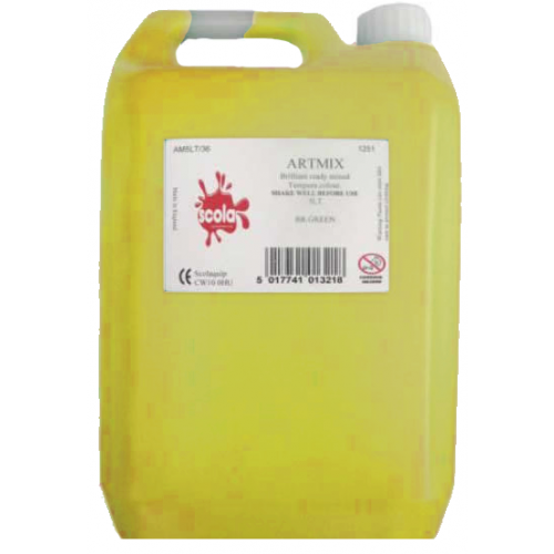 Artmix Poster Paint 5Lt - Yellow