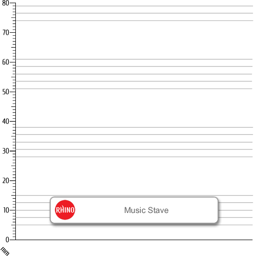 Music Book 205x165 48p M8/F8 L/Blue