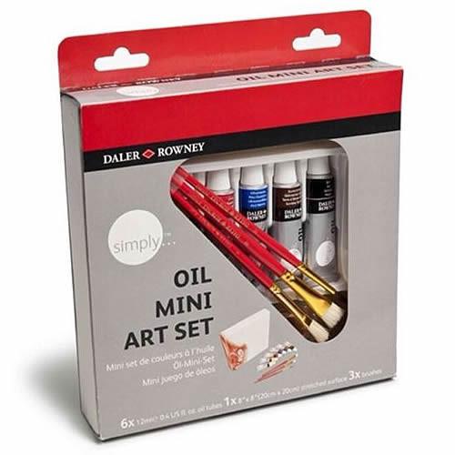 SIMPLY OIL MINI ART SET