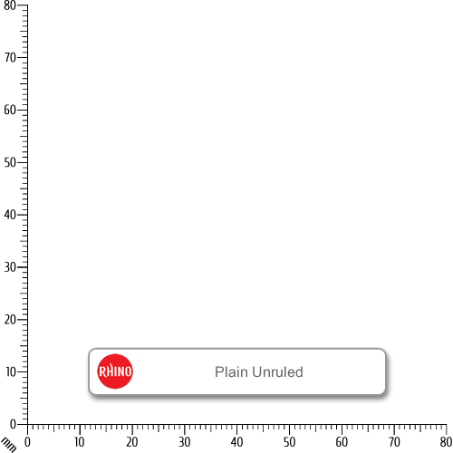 Rhino Refill Pad A4 80L Plain HB Pk6