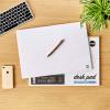 RHINO Desk Pad, 5-Column Planner, A3, 90gsm FSC Paper, 50 Sheets