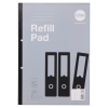 RHINO A4 Refill Pad 200 Leaf, F6M (Pack 5)